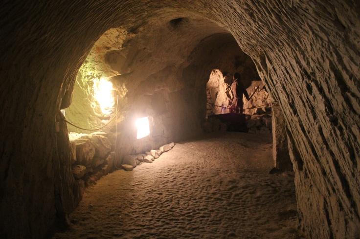 Chalk underground in Chelm (east of Poland). See more at http://www.yougo.pl/miejsce/6/chelmskie-podziemia-kredowe #chełm #lubelskie #polska