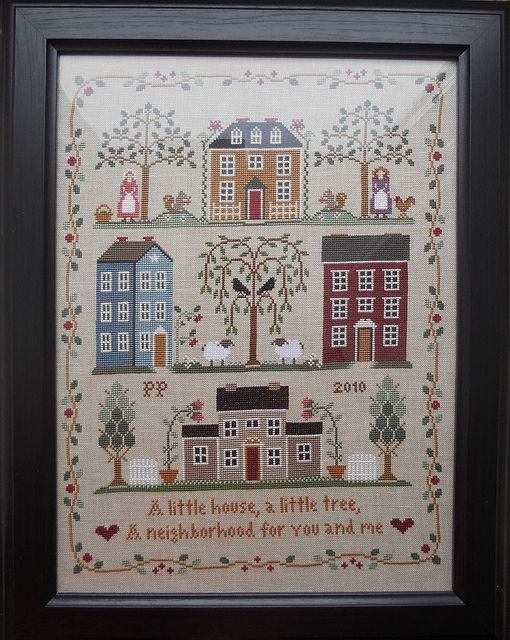 Little House Needleworks - Little House Neighberhood
