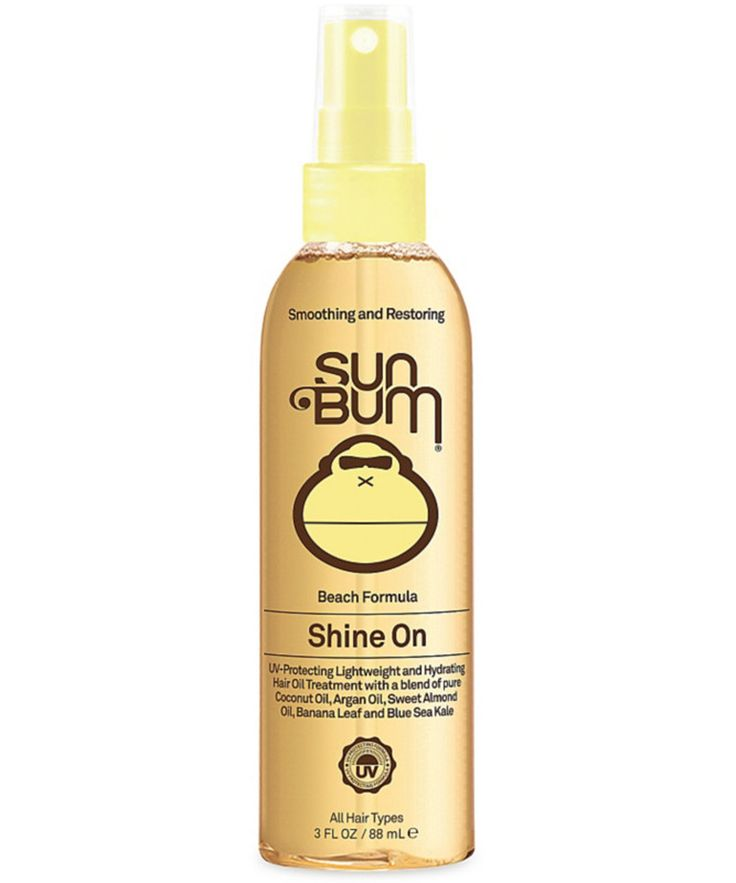 7 Hair Serums We're Currently Obsessing Over - Sun Bum Beach Formula Shine On Hair Oil from InStyle.com