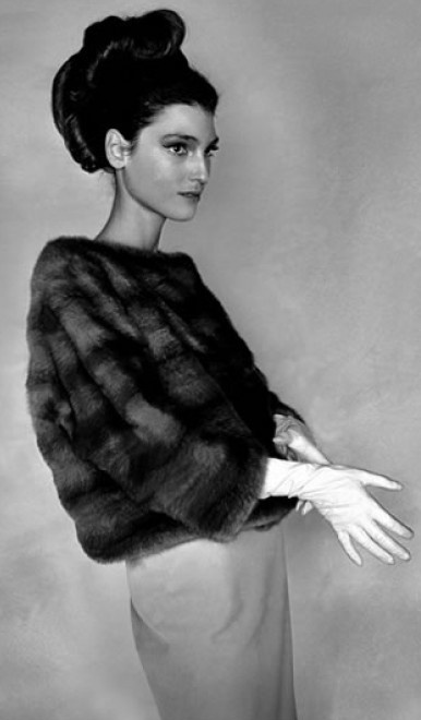 Benedetta Barzini French Vogue 1964 Photographed By