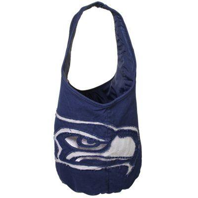 Seattle Seahawks Women's SMU Big Logo Hobo Bag