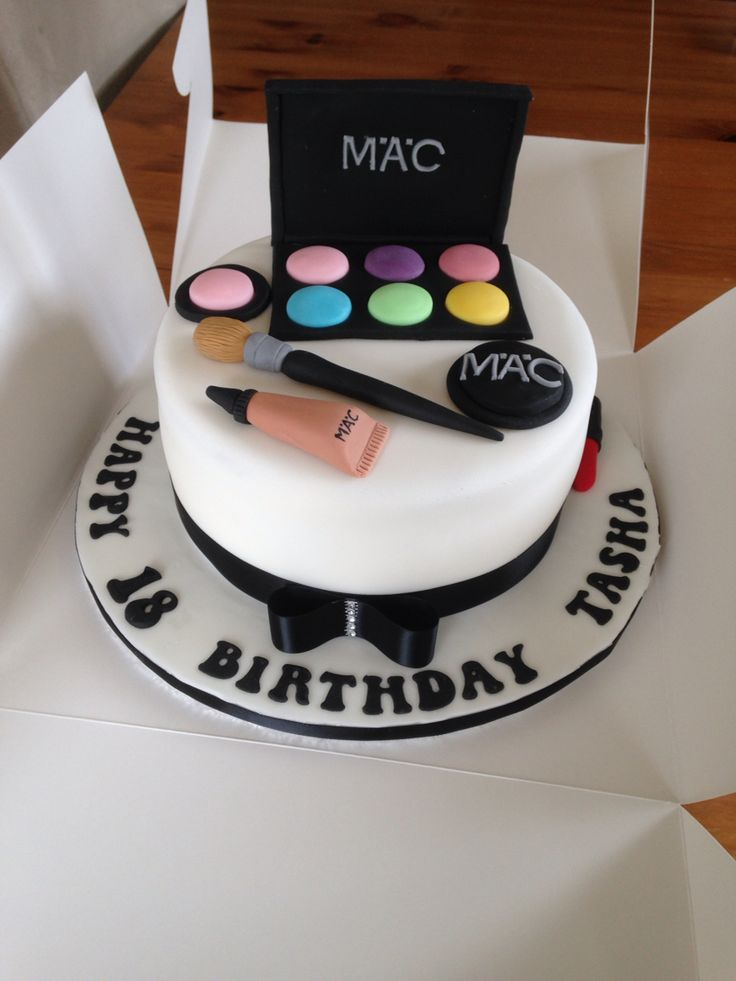 15 best makeup birthday cake images on Pinterest Makeup birthday