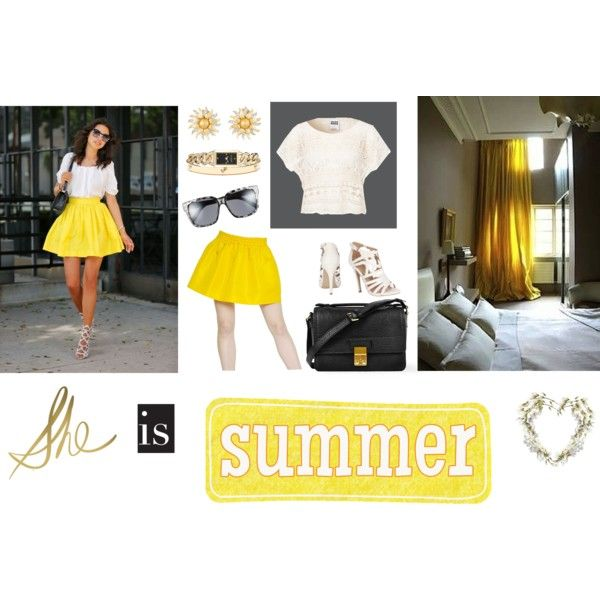 """She is SUMMER"" by bonnieai on Polyvore"