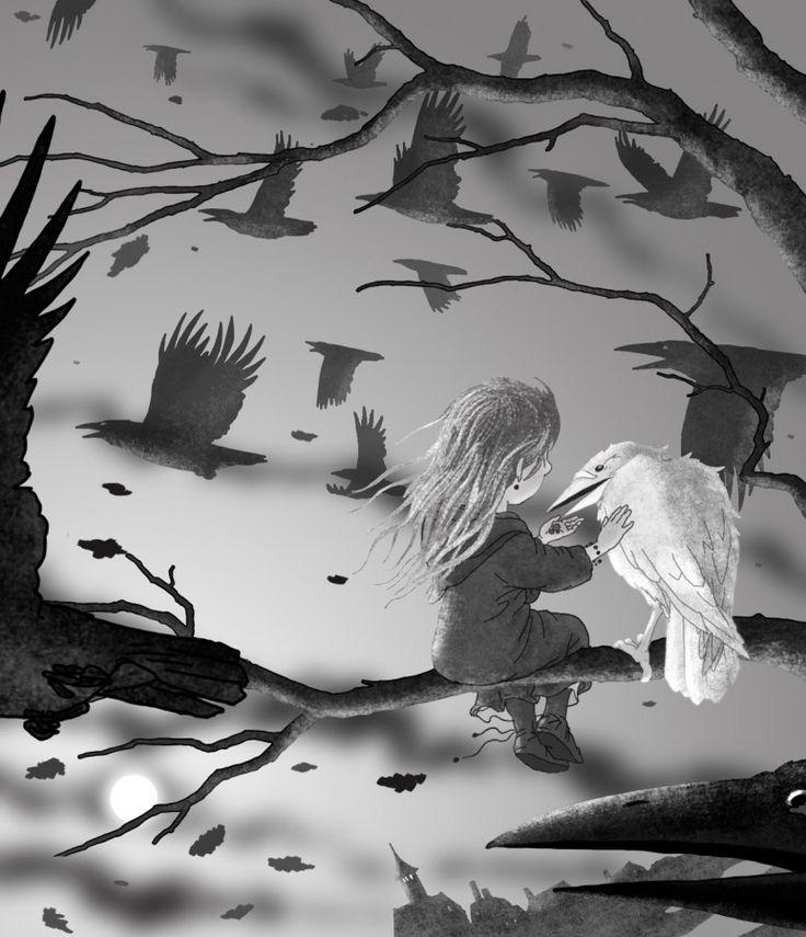 """четвертая картинка для книги """"Затмение"""" Светланы Ос  illustration for book """"Eclipse"""" by Svetlana Os  art • russian • illustration • calendar • drawing • artist • illustrator • fantasy"""