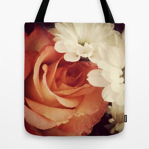 Flowers Tote Bag from society6