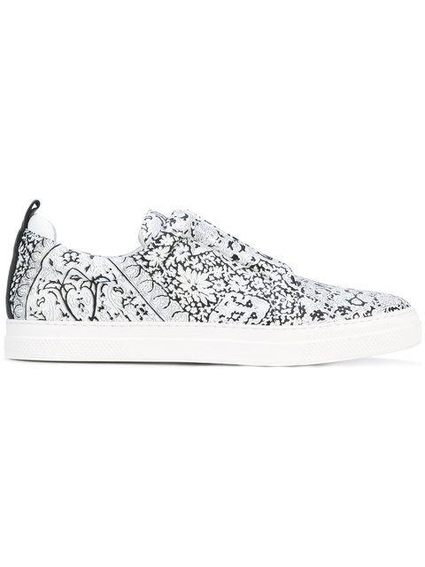 PIERRE HARDY Printed Sneakers. #pierrehardy #shoes #sneakers