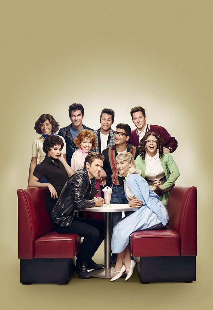 Grease: Live, Love this cast, and I haven't even seen it yet!