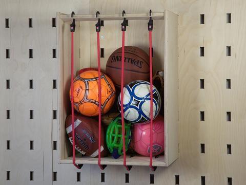Ball Storage - Slot Wall Accessory