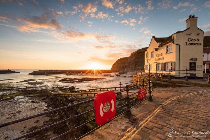 Staithes Summers Morning