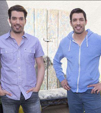 Jonathan et Drew Scott, vedettes de la série Notre maison de rêve : une affaire de famille