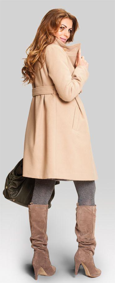 Happy mum - Toffee coffee пальто