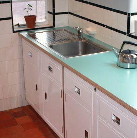 Restored 1950s Paul Metalcraft kitchen from Source Antiques [Salvo code dealer #salvolove