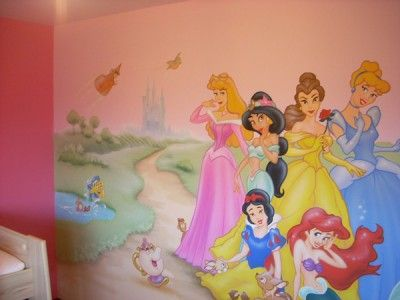 disney wallpaper for bedrooms. Disney Princesses Wall Murals e1323142765234 jpg  400 300 84 best Wallpaper images on Pinterest