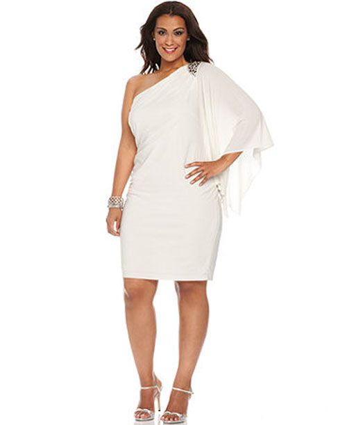 v neck plunge dress plus size xmas