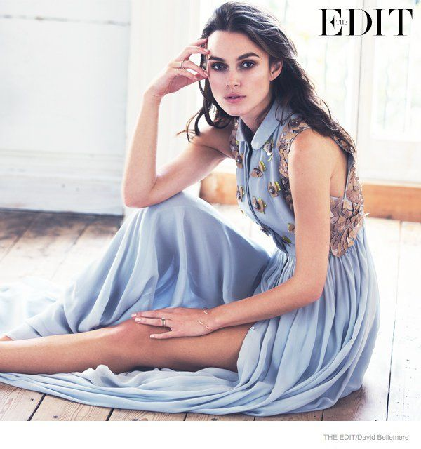 Keira Knightley Poses for The Edit, Talks Turning Down Roles