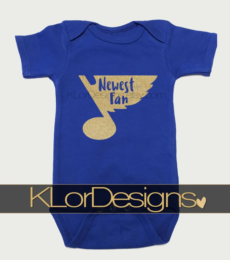 St. Louis Blues onesie, St. Louis Blues Newest Fan,  hockey onesie, baby onesie, baby shower gift,  blues onesie, St. Louis Blues gift by KLorDesigns on Etsy https://www.etsy.com/listing/452898394/st-louis-blues-onesie-st-louis-blues