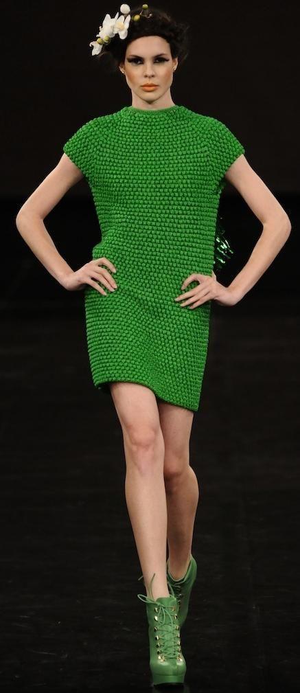 crochet dress by Helen Rödel