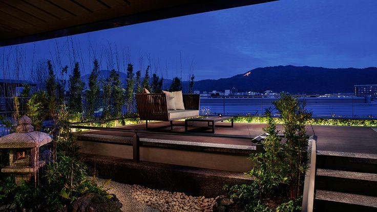 Moon Viewing Deck - The Ritz-Carlton, Kyoto - Japan & Luxury Travel Advisor – luxurytraveltojapan.com - #Luxuryhotels #Kyoto #Japan #Japantravel #ritz-carlton