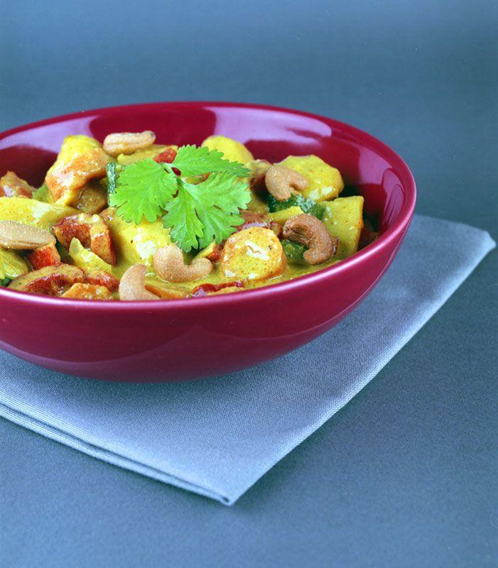 Curry aux légumes Loïc & Constantino
