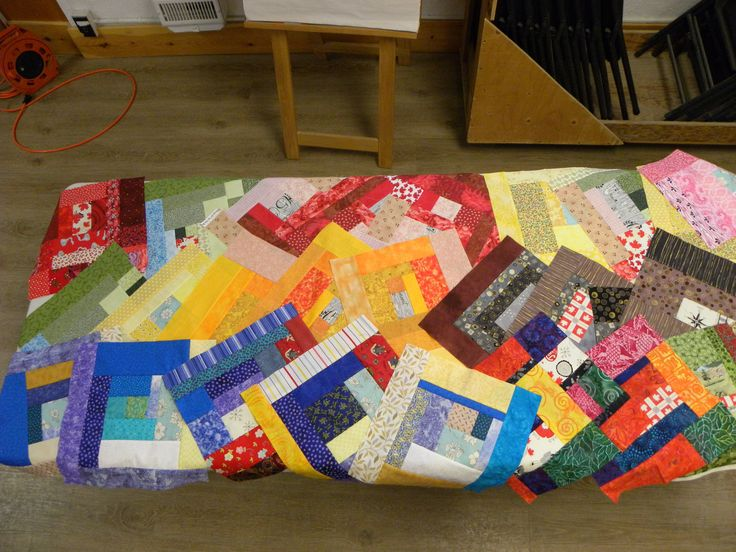 Quilters from Bond Head ON make blocks for the Big Quilt Bee