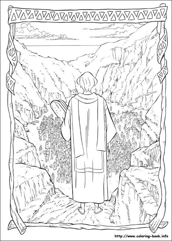 The Prince of Egypt coloring picture   Coloring Sheets POE ...