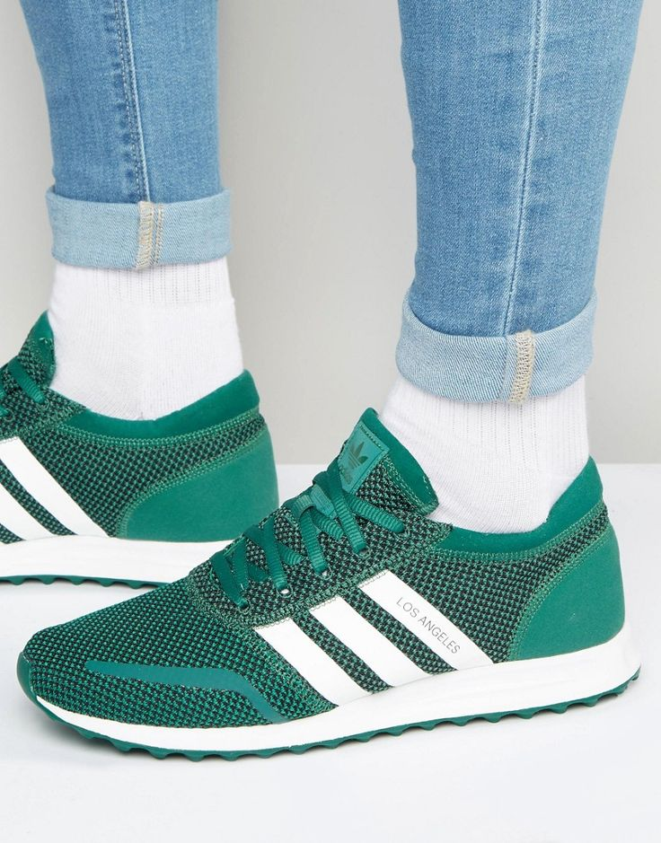 adidas Originals Los Angeles In Green S75996 - Green