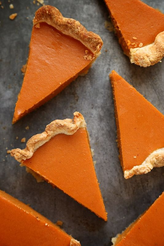 Dad's Perfect Sweet Potato Pie / joy the baker