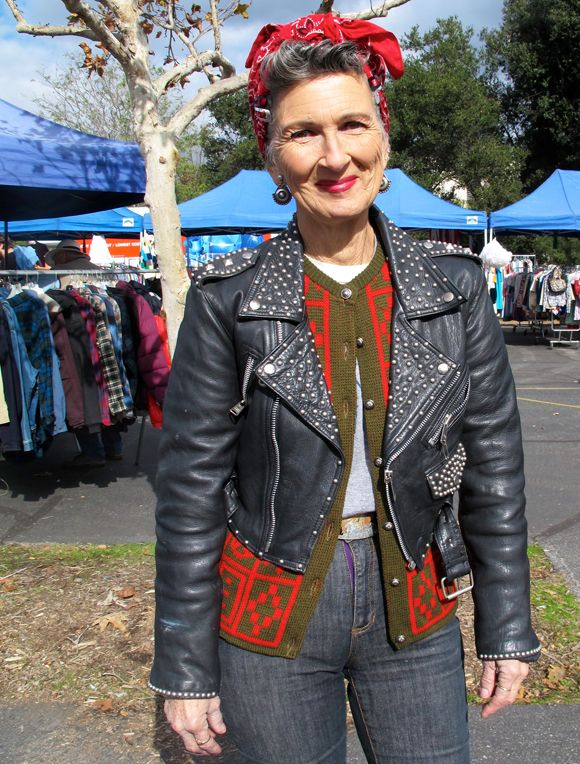 This will be me in 30+ years. What a rockin' cool grandma with a fabulously unique sense of style!