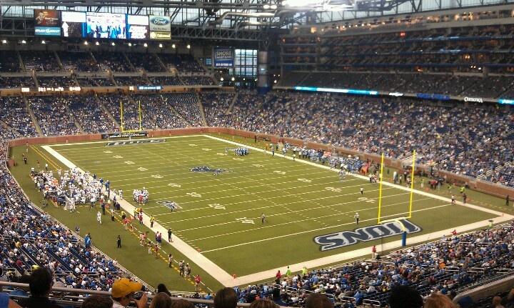 Detroit Lions PreSeason game