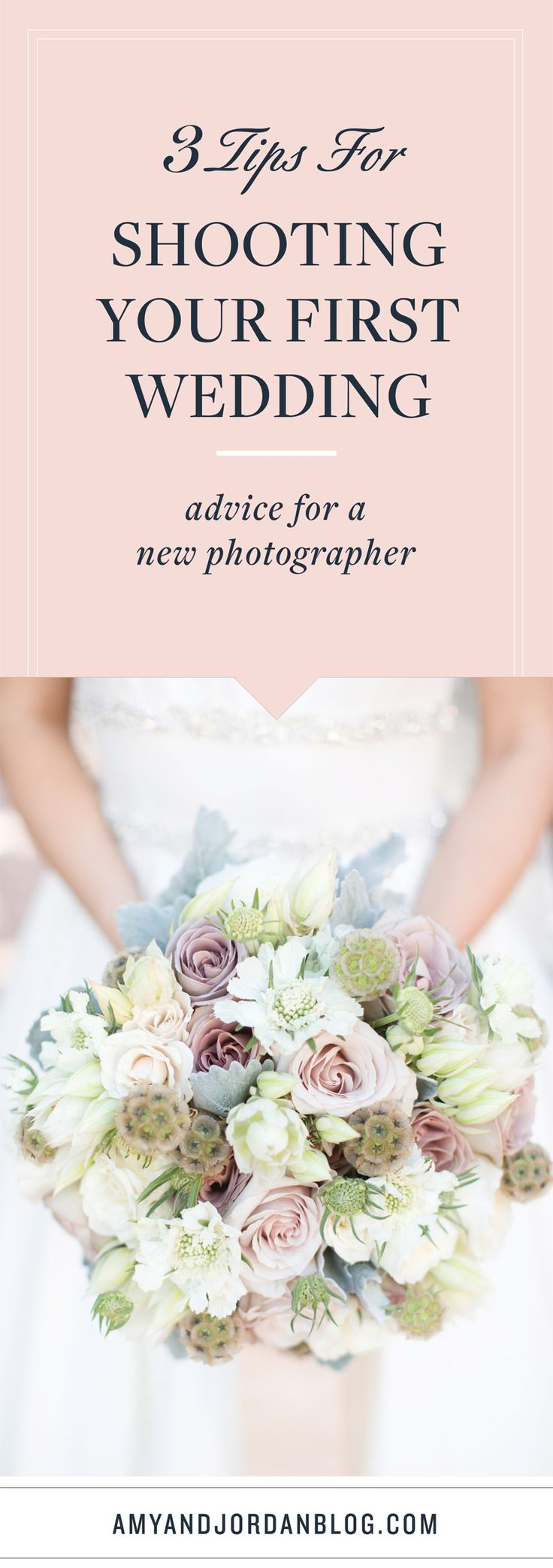 3 tips for shooting your first wedding. Advice for a photographer.