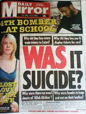 The 7/7 London Bombings: How to Set Up a Patsy