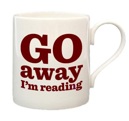 I totally need this. Can I get a travel mug too! :)Bones China, Coffe Mugs, Book Lovers, Book Nerd, Christmas Presents, Coffe Cups, I M Reading, Christmas Gift, Coffee Mugs