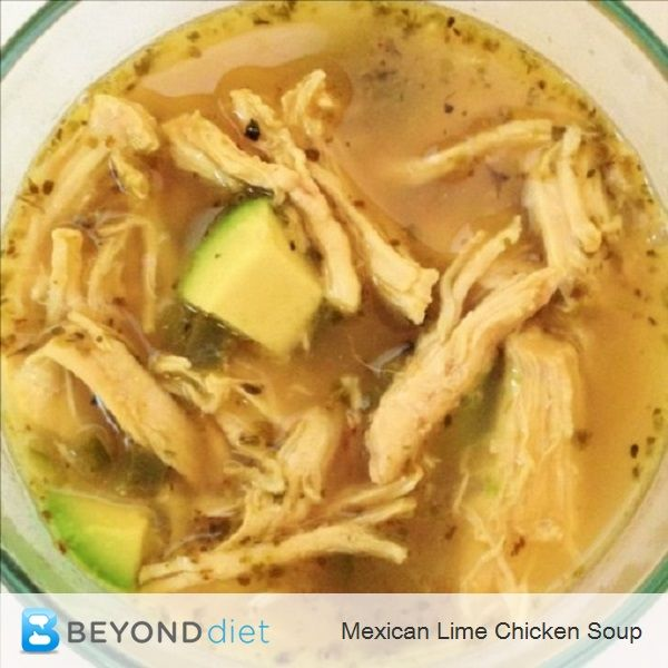 Mexican Lime Chicken Soup - Mmm... this soup is delicious!