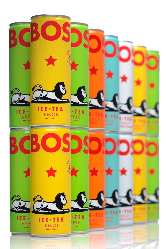 BOS Ice Tea | Packaging of the World: Creative Package Design Archive and Gallery