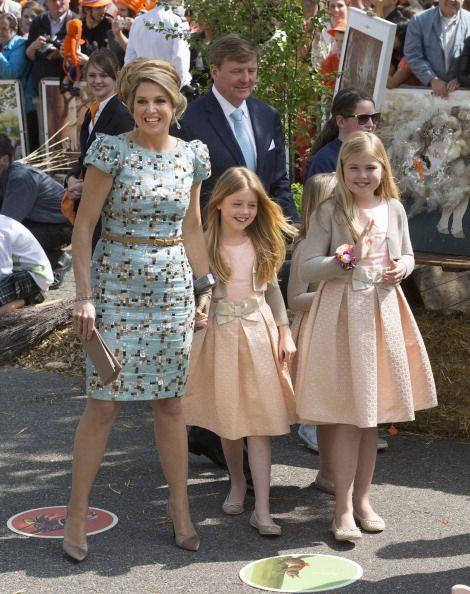 Kingsday 26 april 2014. Royal family having a good time.