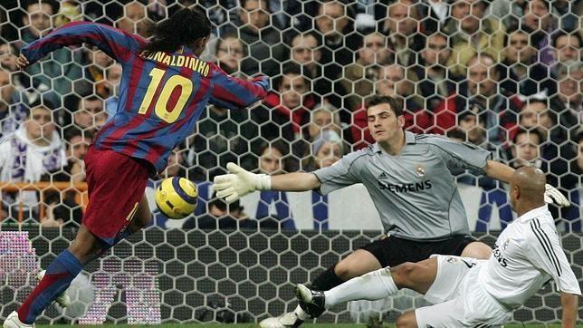 Los mejores goles del Real Madrid-Barcelona en el Bernabéu  via @abc_es