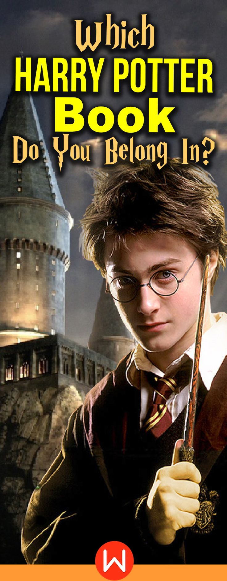 Quiz Which Harry Potter Book Do You Belong In? in 2020