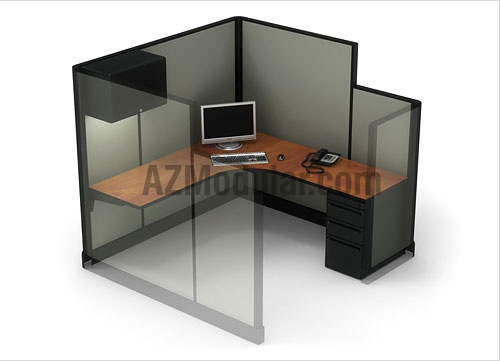 9 best images about office cubicles on pinterest 4x4 for 8x8 office design