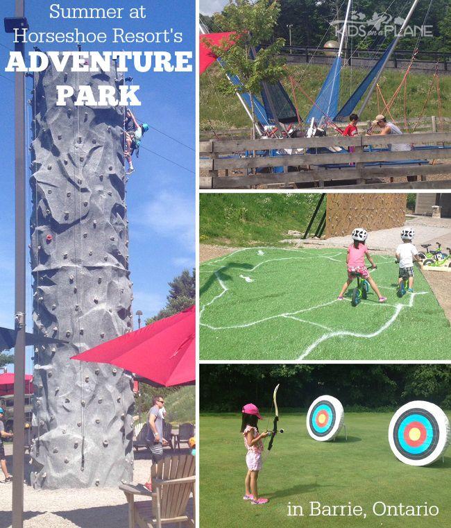 Summer Activities at Horseshoe Resort's Adventure Park in Barrie, Ontario - KidsOnAPlane.com
