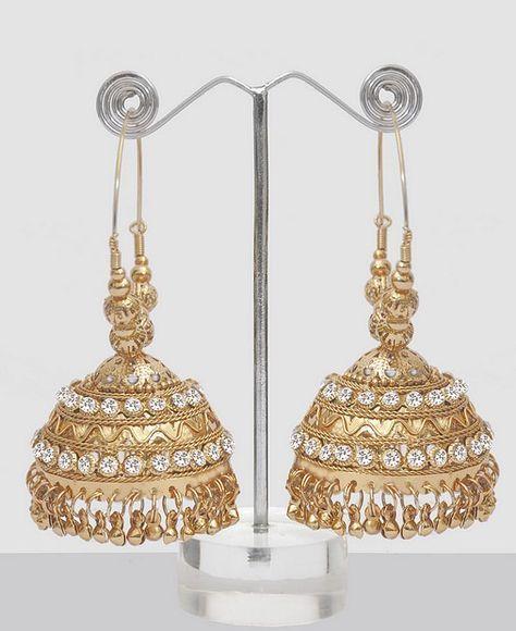 Big Jhumka Earrings Online