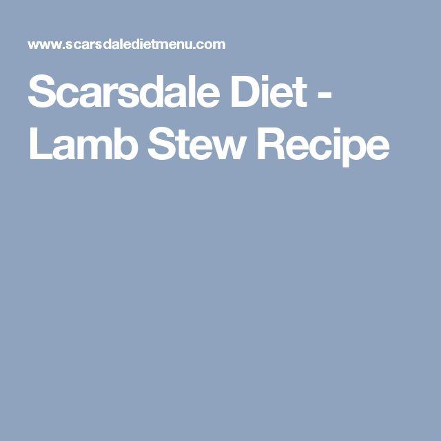 Scarsdale Diet - Lamb Stew Recipe
