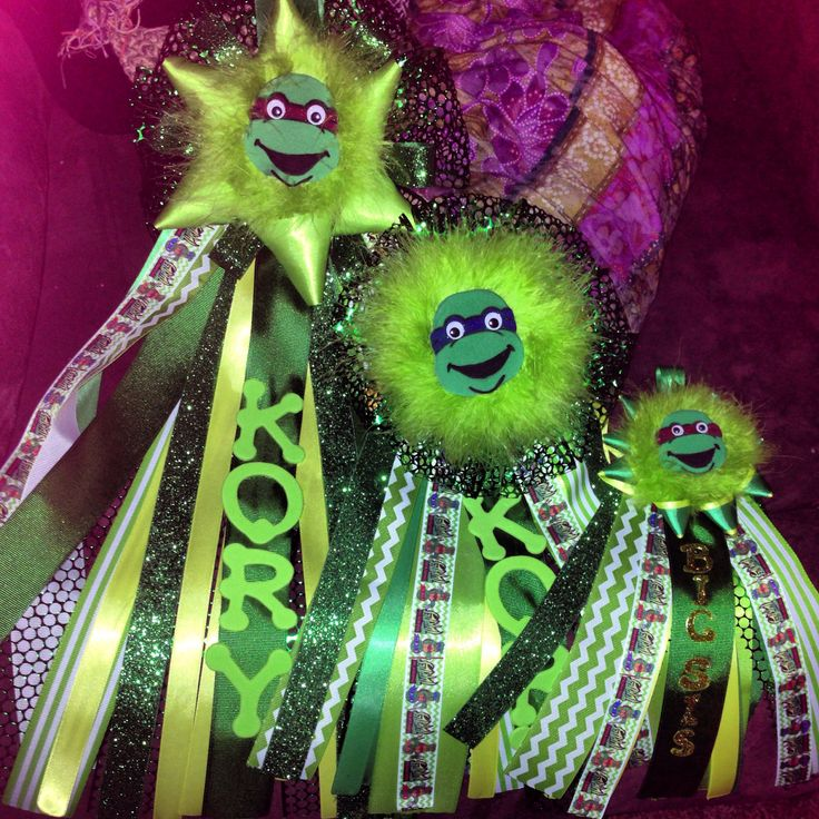 Ninja Turtle Baby Shower Mums ******when The Baby Finally Gets Here!