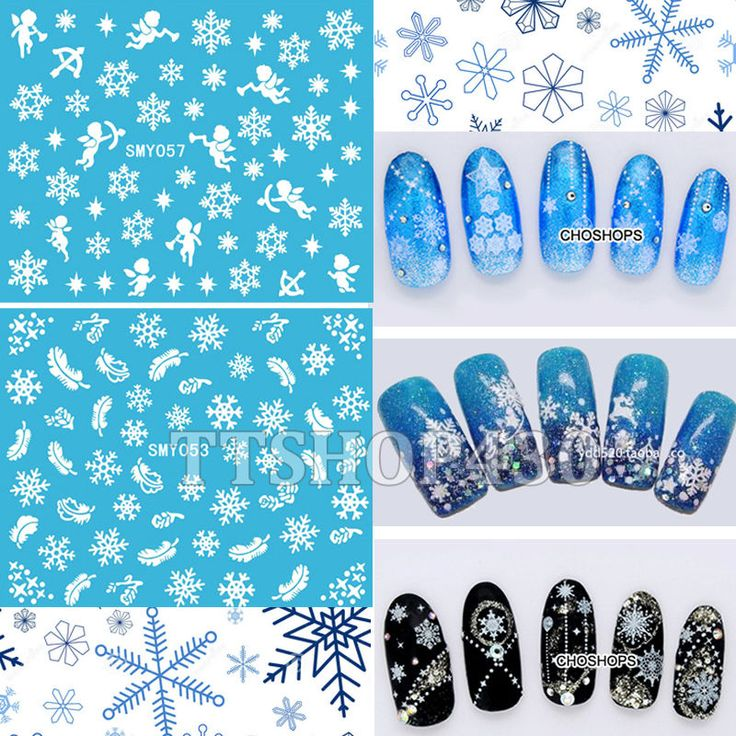 HOT! 12 Sheets IN 1 Mixed Style Snowflakes Christmas 3D Nail Art Sticker Tips Decals Manicure DIY X'mas Sticker SMY049-060 #>=#>=#>=#>=#> Click on the pin to check out discount price, color, size, shipping, etc. Save and like it!