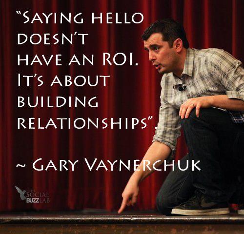 Social Media Quote by Gary Vaynerchuk    #quote #garyvee #socialmedia