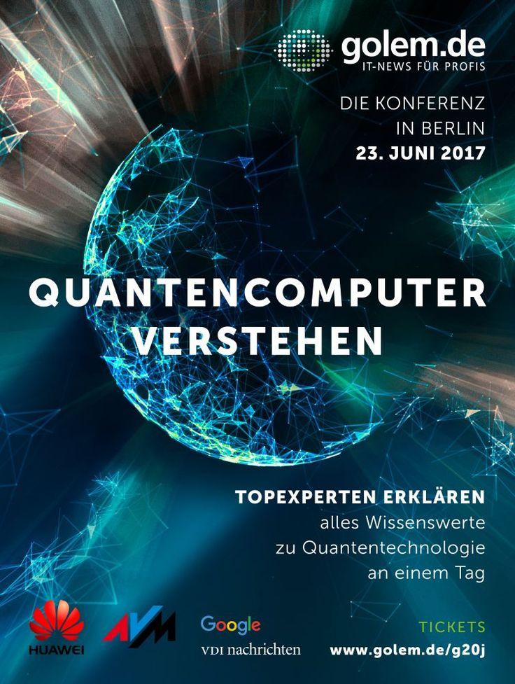 """https://www.stellencompass.de/quantencomputer-verstehen/ Quantencomputer verstehen - Experten erklären Zukunftstechnologie auf Golem.de-Konferenz gd.ots.mh- Ein Hype-Thema im Faktencheck: Quantentechnologie wird viele Branchen in den kommenden Jahren prägen, aber sie hat auch ihre Grenzen. Am 23. Juni 2017 erklären führende Forscher auf der großen Konferenz """"Die Quanten kommen!"""" in Berlin, was die Zukunftstechnologie wirklich kann und was sie für Unternehmen"""