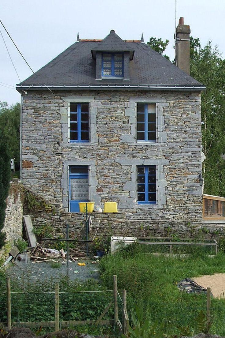 Suivez la rénovation dune jolie maison bretonne