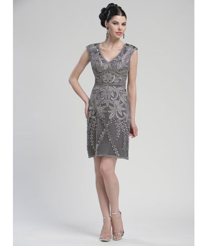 Pretty charcoal mother of the bride dress wedding for Charcoal dresses for weddings