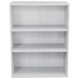 Buy Phoenix 3 Shelf Wide Bookcase - White at Argos.co.uk, visit Argos.co.uk to shop online for Bookcases and shelving units