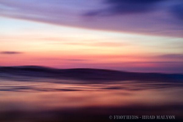 Frothers.com.au - 17 Apr 12 - Sunset wave - Canggu