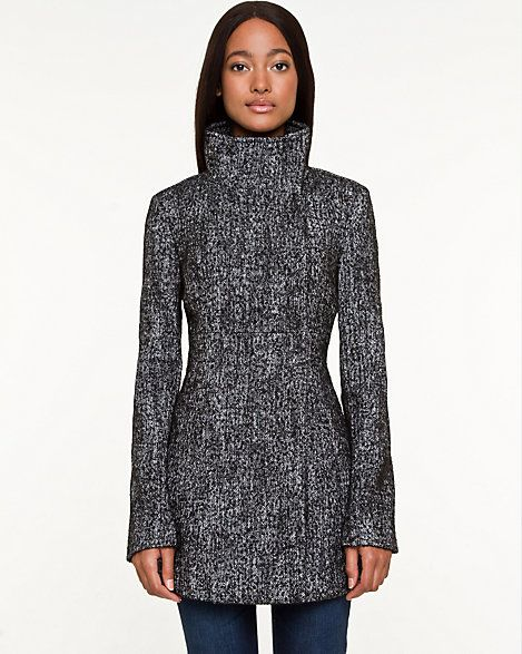 Tweed Asymmetrical Jacket